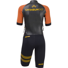 Colting Wetsuits Swimrun Go Traje Triatlón Mujer, black/orange